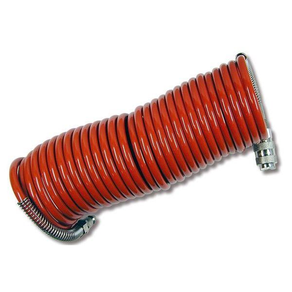 Manguera espiral para compresor 10metros - Manguera para compresor ...