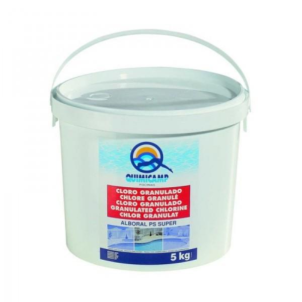 Cloro granulado alboral quimicamp for Quimicamp piscinas