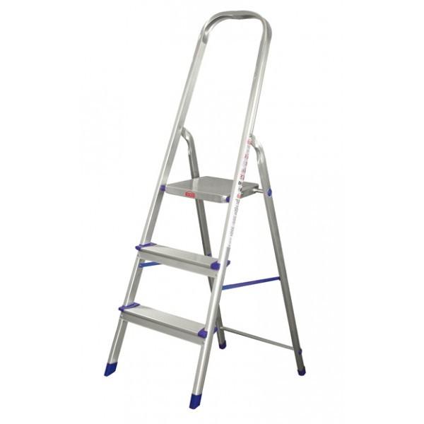 Escalera Domestica Aluminio 3pelda Os